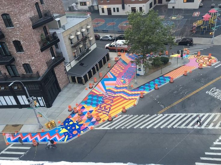 NYC Mural by Graffiti Artist Unveiled at Ascenzi Square in Williamsburg