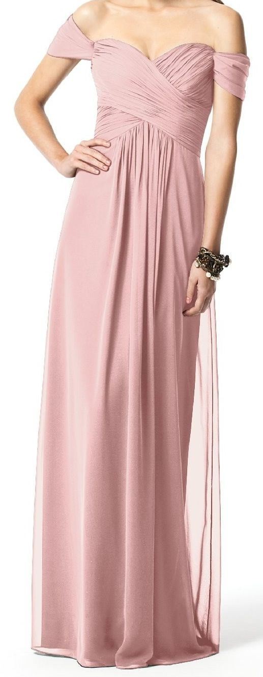 dress for the bridesmaids. maybe not the sleeves and a coral colour, not rose