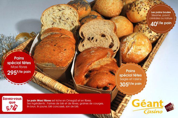 Des fibres dans votre pain !