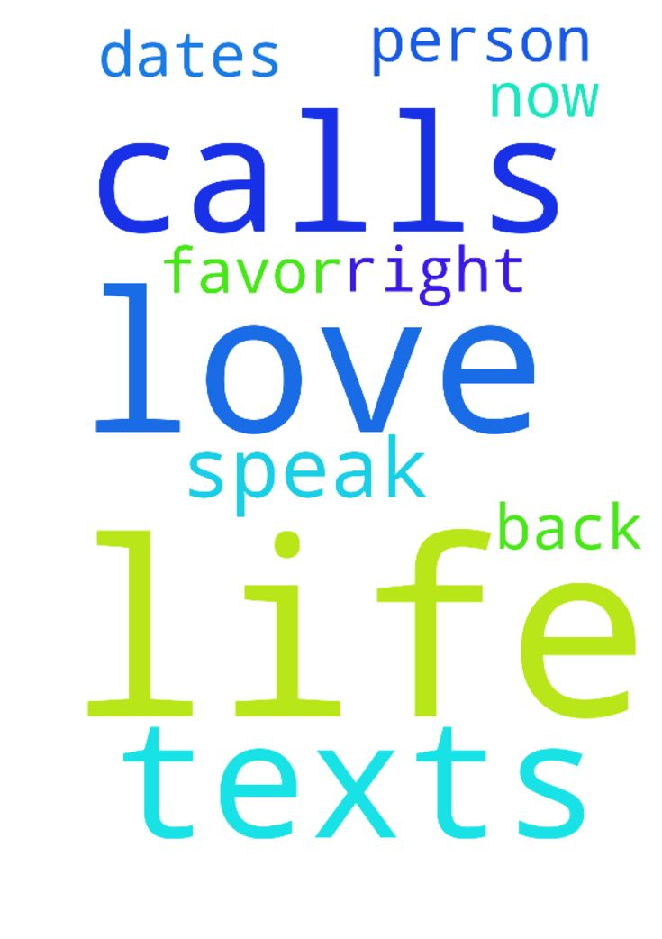 I speak life to my love life I can get texts calls - I speak life to my love life I can get texts calls dates and the right person for me my favor is back in my love life now  Posted at: https://prayerrequest.com/t/kKE #pray #prayer #request #prayerrequest