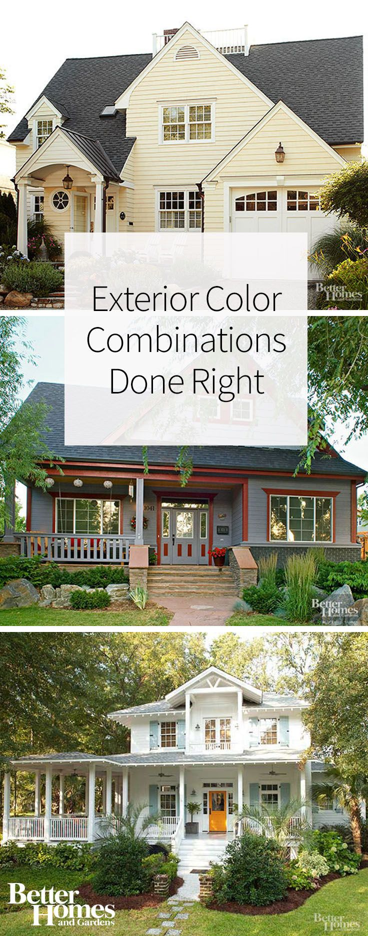 1319 best Perfect Exterior Color images on Pinterest