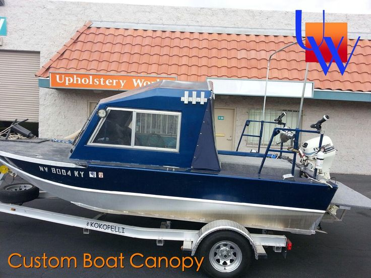 Boat Canopy with zipper enclosure by Upholstery Works in Las Vegas at // & 11 best Marine Boat Upholstery images on Pinterest | Boat ...