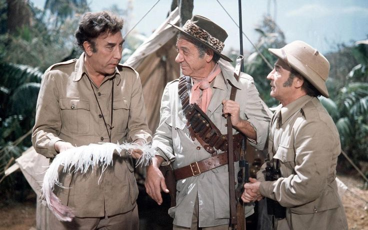 Carry on Up the Jungle (1970) - Frankie Howerd, Sid James, Kenneth Connor