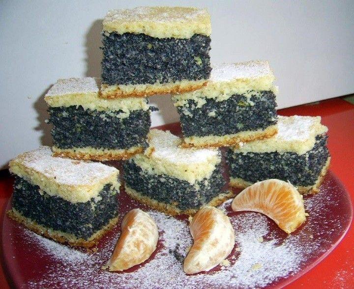 Nagyon olcsó finom mákos sütemény