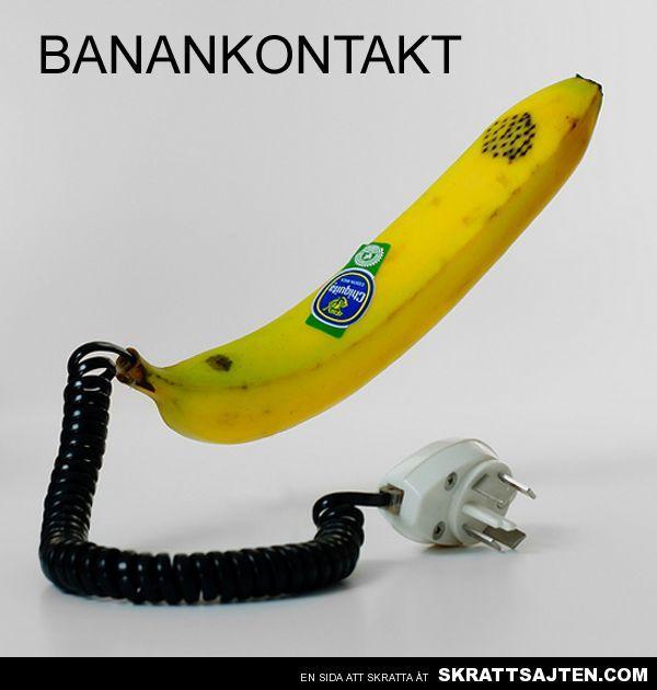 Banankontakt