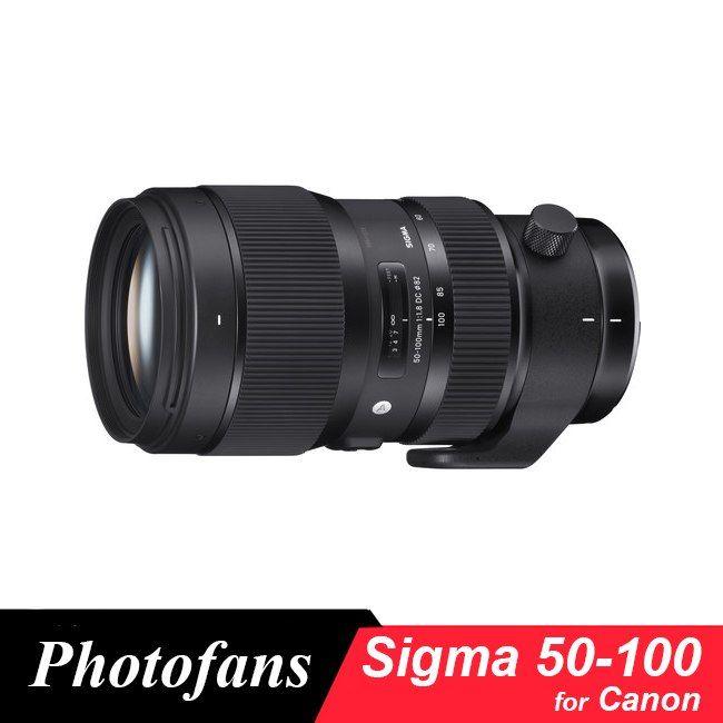 Sigma 50 100mm F 1 8 Dc Hsm Sanat Lens Canon 650d 700d 750d 760d