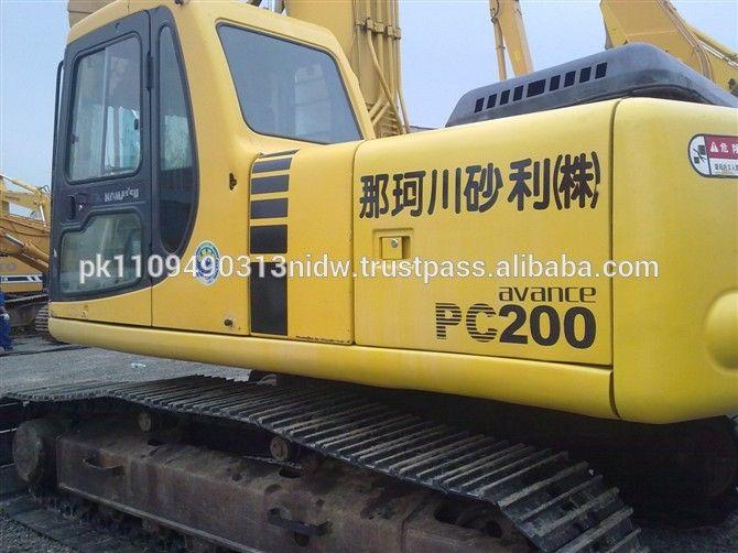 Used Komatsu Excavator PC200-7 for sale Komatsu Excavator Prices New#new excavator komatsu pc200 price#komatsu