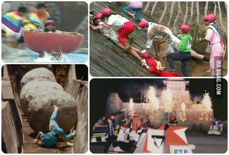 Who remembers Takeshis Castle?