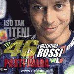 DP BBM Valentino Rossi Juara Dunia MotoGP 2015