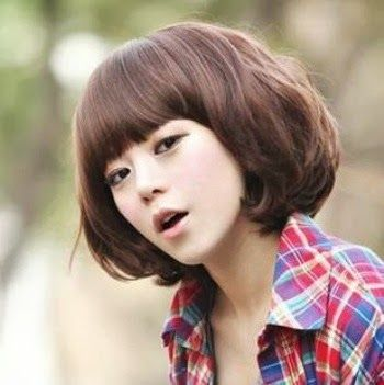 Bob and Fringe - nice The Best 2014 Korean Hairstyles for Women -