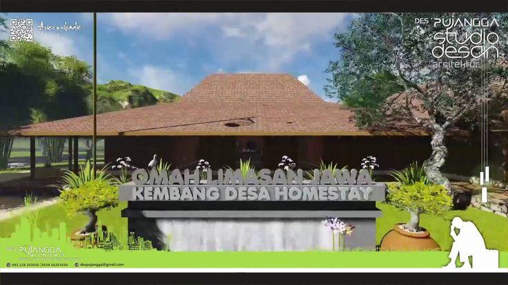 Rumah LIMASAN Animasi arsitektur tradisional jawa pedesaan aries pribadi...