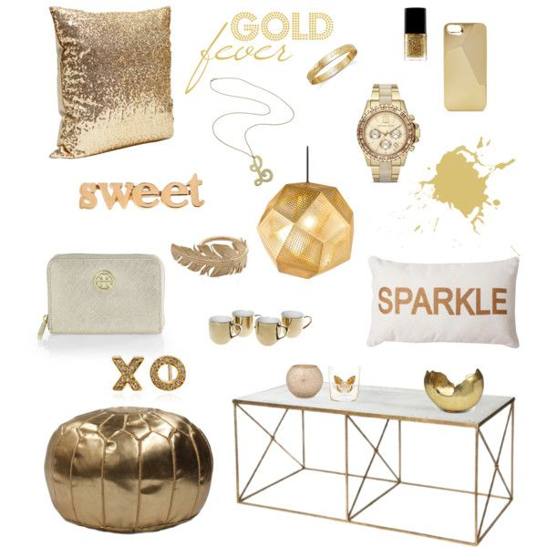 """""""Gold fever"""" by junesdagbok on Polyvore"""