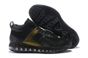 c7e31c4ee47 Mens John Elliott x Nike LeBron Icon Black Gold Basketball Shoes ...