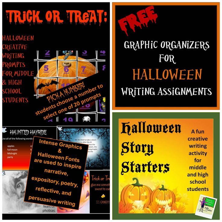 7 Quick Halloween Creative Writing Prompts