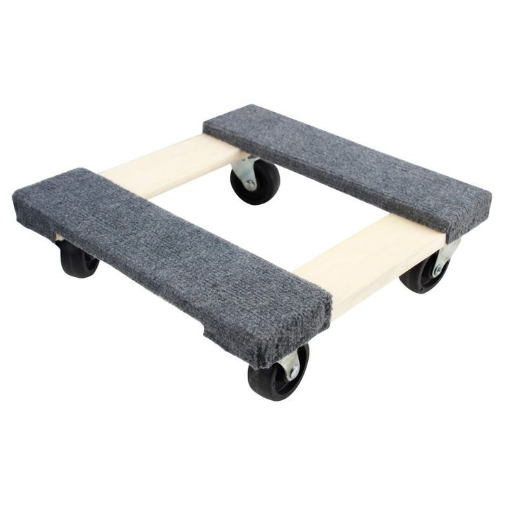 Olympia Tools 15 in. Wood Furniture Dolly - 13514054
