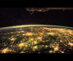 What an Astronaut's Camera Sees at Night (from ISS)