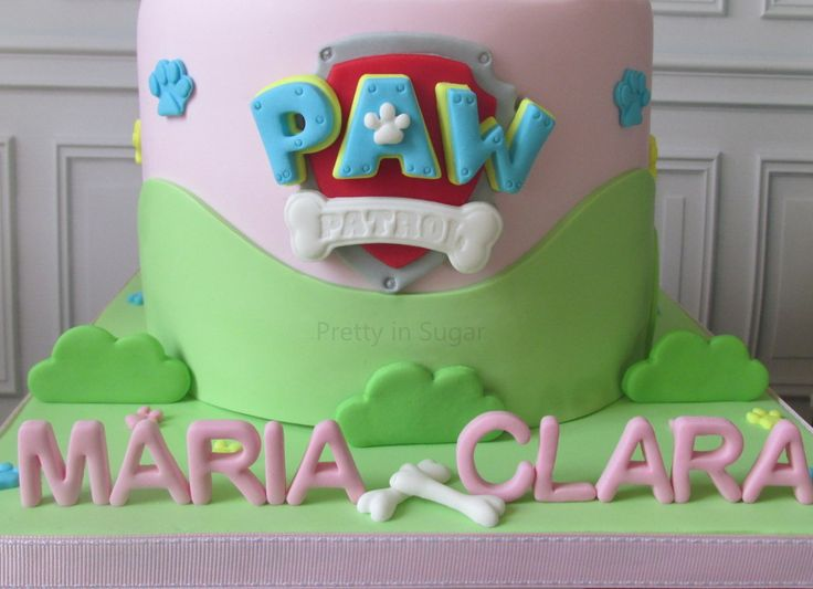 Patrulha Pata | Paw Patrol - cake stand by Coco&Baunilha