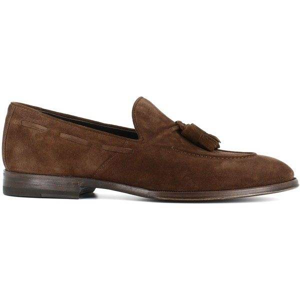 Tassel Loafer 67403.3 (21.395 RUB) ❤ liked on Polyvore featuring men's fashion, men's shoes, men's loafers, brown, suede tassel loafers mens shoes, leather sole mens shoes, mens brown shoes, mens brown suede shoes and mens tassel loafer shoes