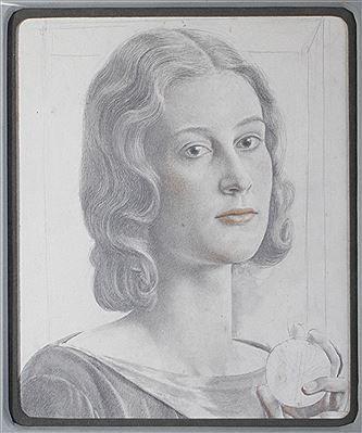 Viktor Hammer, A portrait of Charlotte B. Ogle