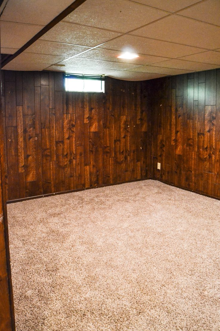 Paneling Makeover - Have paneling in your home you would like to change, but have a tight budget? Paint it! This post will show you how easy it is to do!