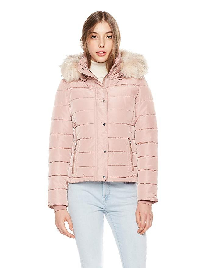 dee663214 Royal Matrix Women's Heavy Short Quilted Puffer Coat |Winter Coats ...