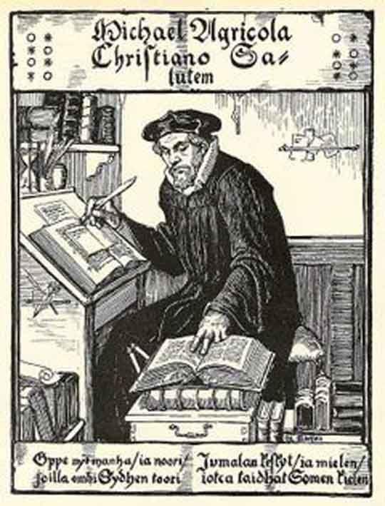 Mikael Agricolaa voidaan perustellusti luonnehtia monipuolisesti lahjakkaaksi mieheksi.Kielitaitoisena hän tunsi hyvin aikansa humanistisen sivistyksen ja kykeni suomentamaan Raamattua sekä kirkoll.kirjoja.Hallintotehtäviensä johdosta hänen oli hallittava myös kirkollista ja Ruotsin yhteiskunnall.lainsäädäntöä sekä osattava olla diplomaattinen Kustaa Vaasan kanssa.