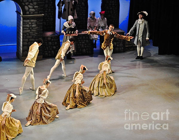 This was taken during the full dress rehearsal performance of Swan Lake by the Ballet Jorgen Canada dancers at the Markham Theatre in Ontario, Canada.