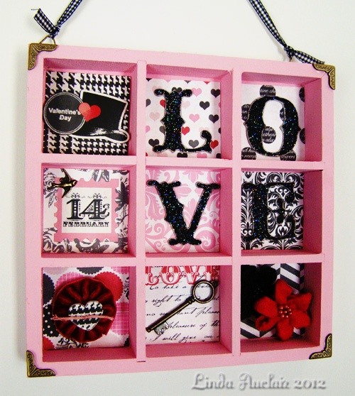 LOVE shadowbox