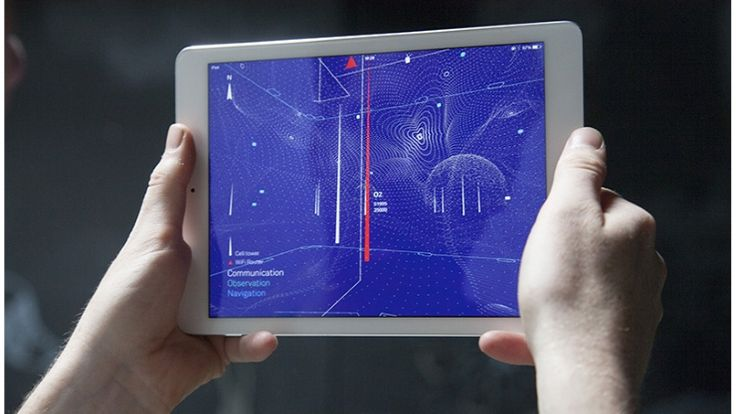 What do all the wireless signals look like around your house? There (might) be an app for that.