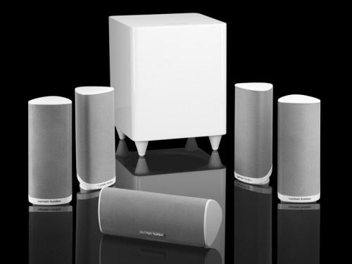 Harman Kardon HKTS 16 zestaw głośników 5+1 kolor biały, 2 lata Gw. PL, transport gratis [2000 zł]