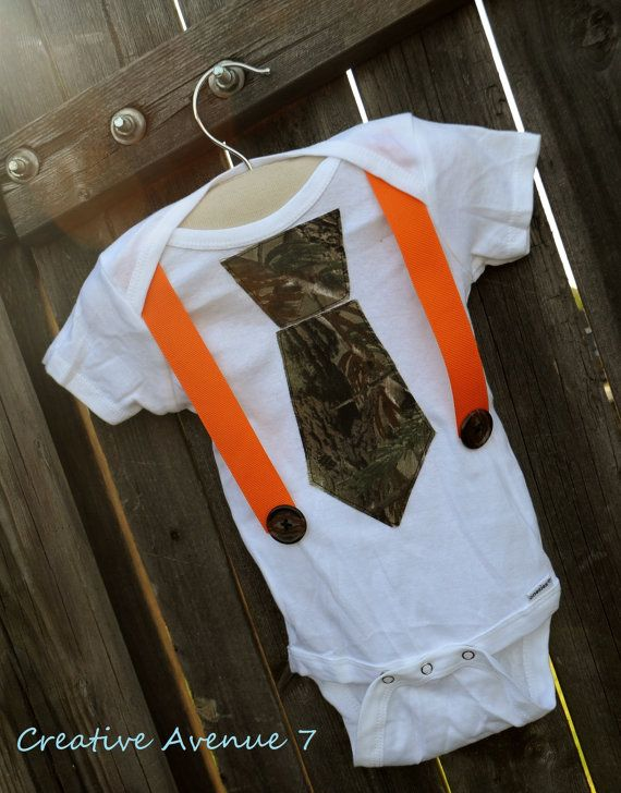 Hey, I found this really awesome Etsy listing at http://www.etsy.com/listing/105935821/camo-tie-onesie-with-suspenders-camo-tie