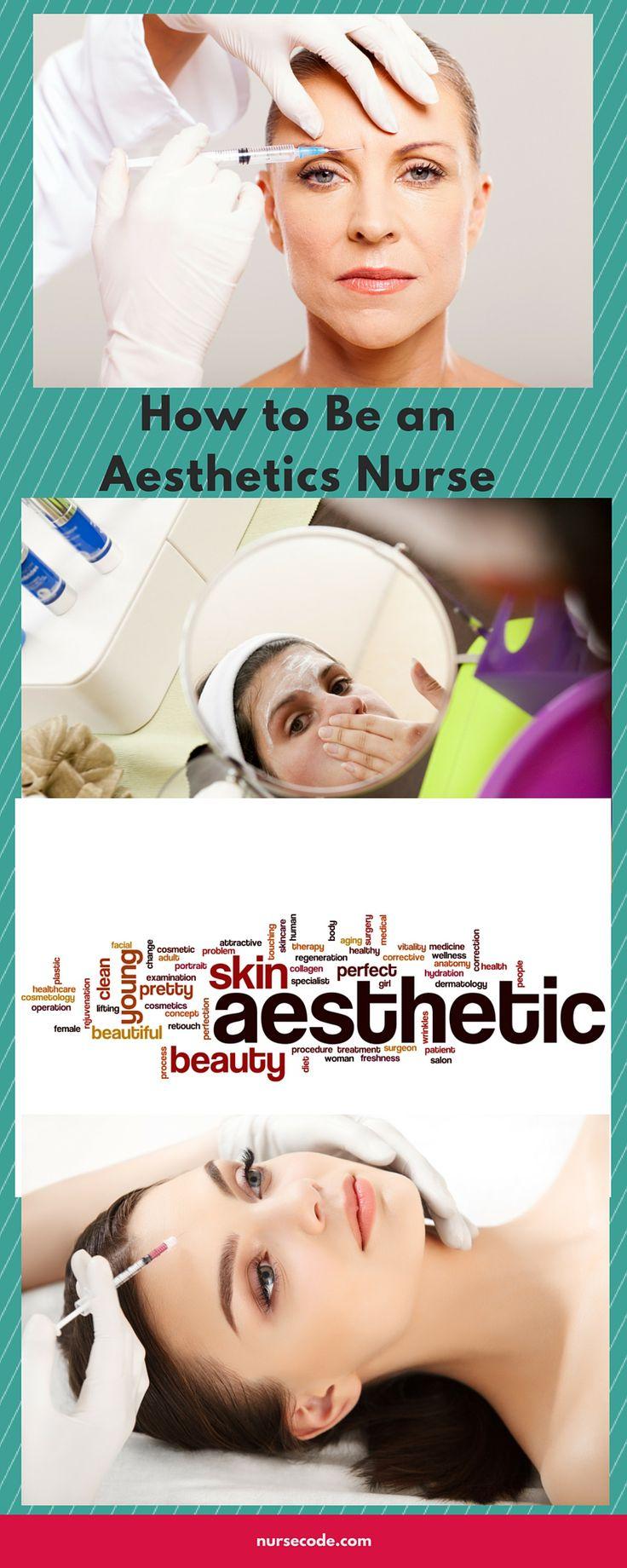 How to a Cosmetics Nurse Dermatology nurse, Nurse