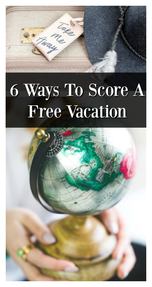 A free vacation is definitely possible, you just have to be creative! Here are six ways to score a free vacation!