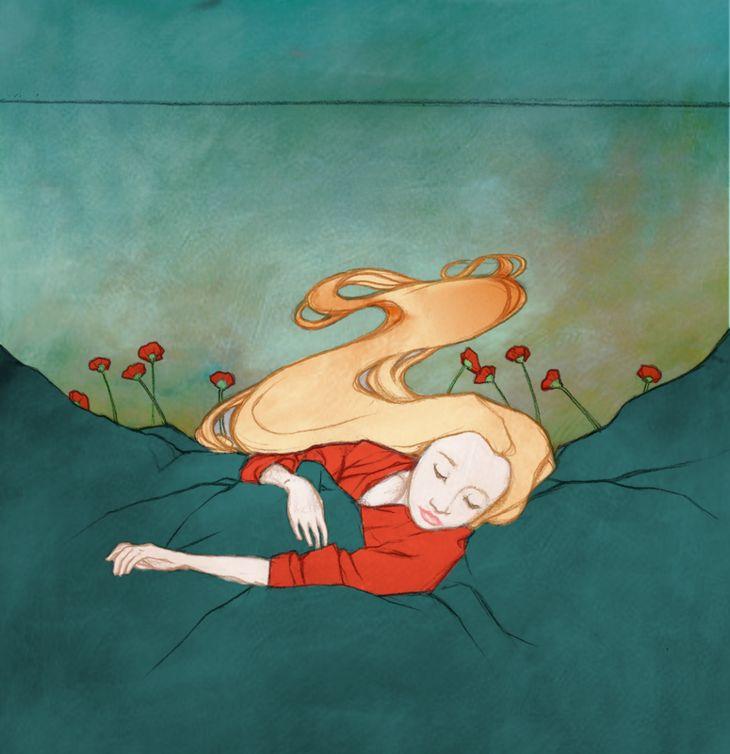 "hitrecord:  ""Poppies To Make You Sleep"""