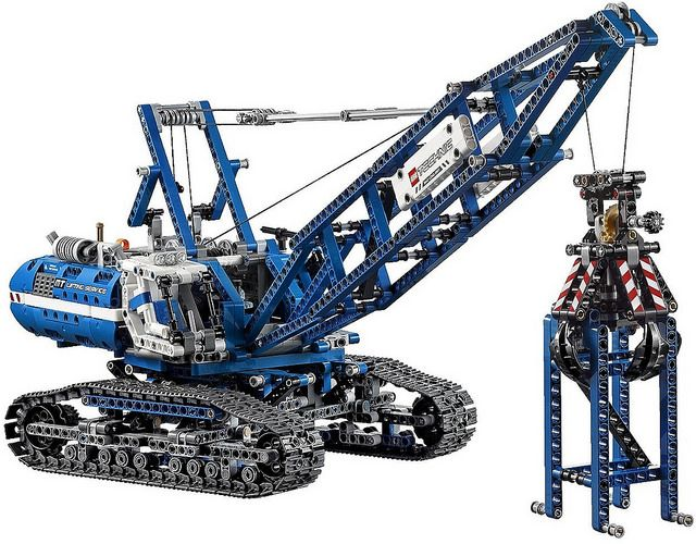 LEGO Technic 2015: 42042 - Crawler Crane #Lego #LegoTechnic #Technic