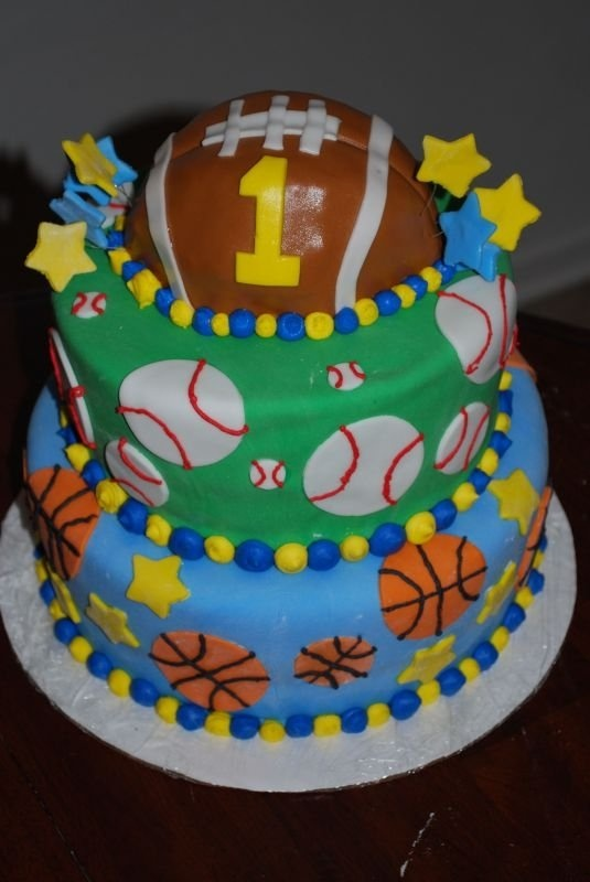 Best Mauricio Birthday Images On Pinterest Sports Party - All star birthday cake