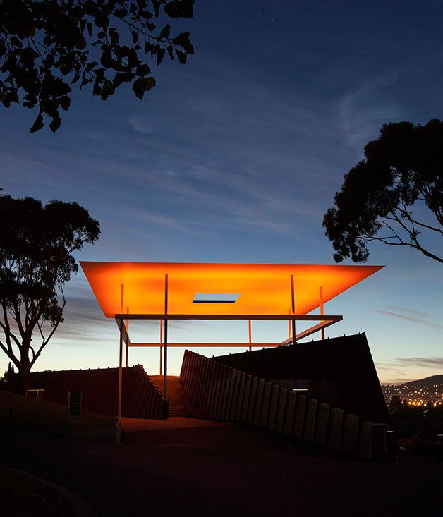 The+Golden+Hour+at+MONA,+Hobart #travel #Australia #Hobart
