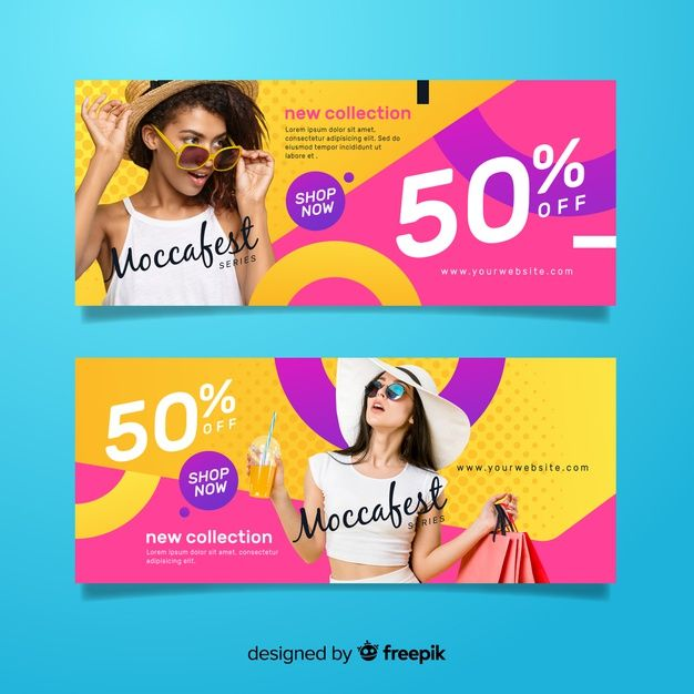 Download Fashion Sale Banners With Photo For Free Sale Banner Fashion Sale Banner Banner