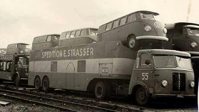 vw Transport caravan
