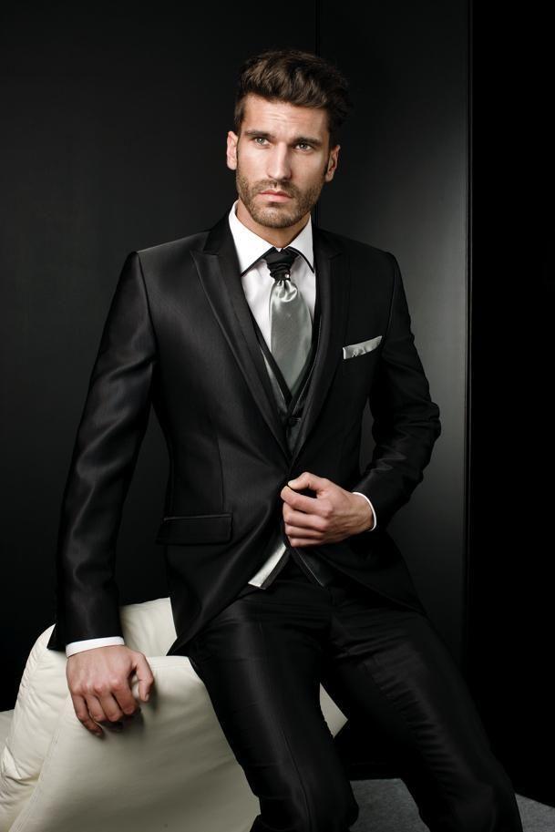 Attire For Men Unique Design Exquisite Dramatic Male Suits Peaked Lapel One Butten Tie Groomsman Tuxedos Men Wedding Suits 1920s Mens Attire From Gorgeous_dress, $96.34| Dhgate.Com