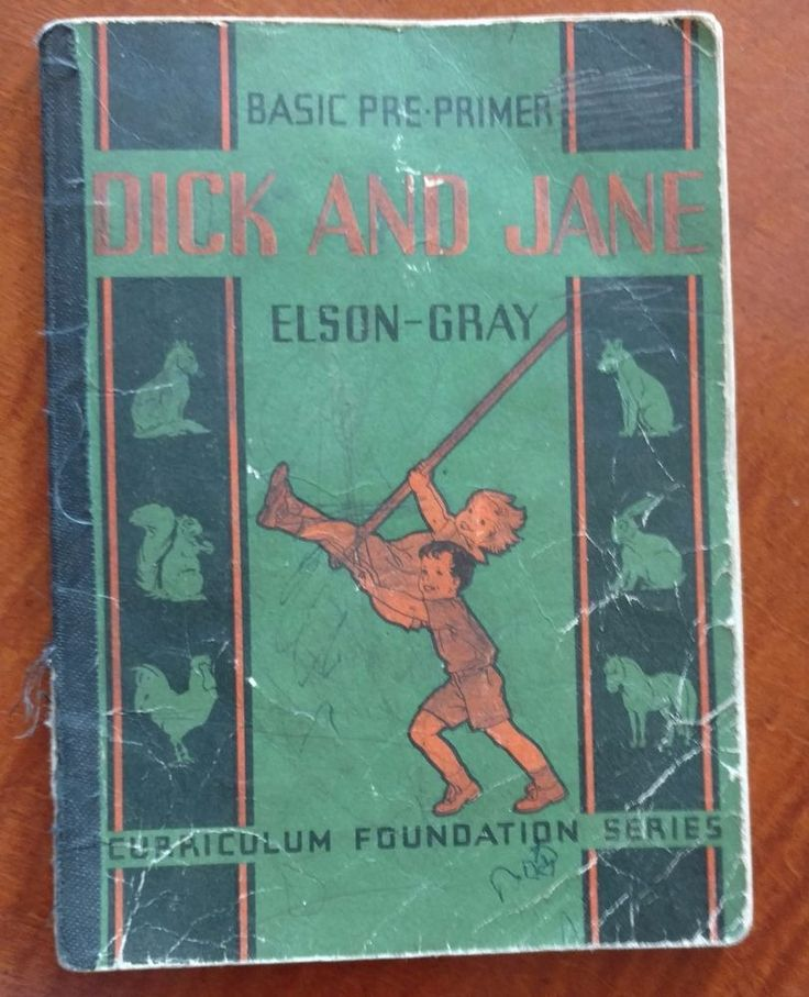 Dick jane primer book