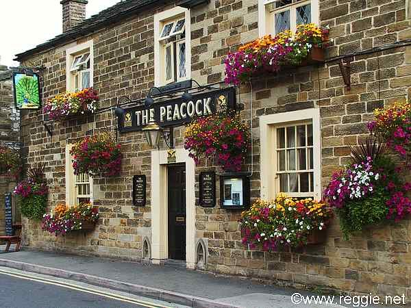 The Peacock, Bakewell, Derbyshire, England, photo..... this pub looks so inviting