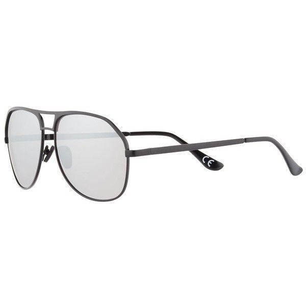 mens black aviator sunglasses upzm  Men's Aviator Sunglasses $15  liked on Polyvore featuring men's fashion,  men's accessories