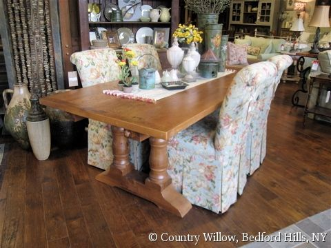 Custom Farm Table For Kitchen Or Dining Room  Country Willow Furniture