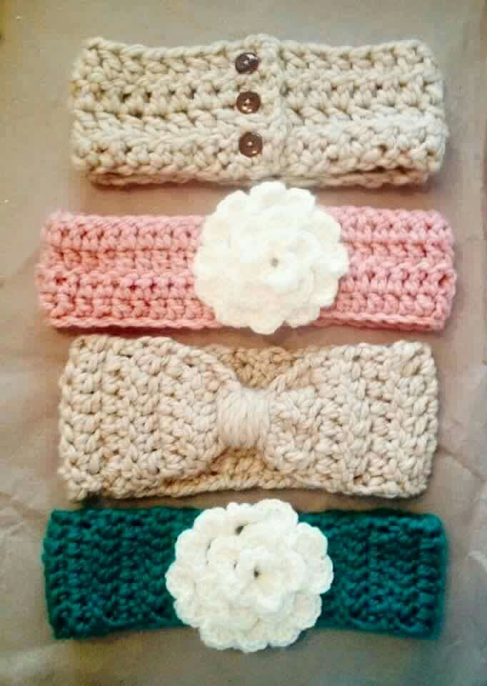 Ideas for a crochet headband