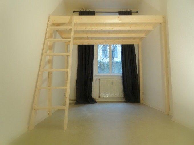 die besten 25 hochbett f r erwachsene ideen auf pinterest jungs hochbetten loft bett studio. Black Bedroom Furniture Sets. Home Design Ideas