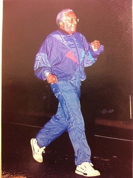 Desmond Tutu in the 1993 Runner's World