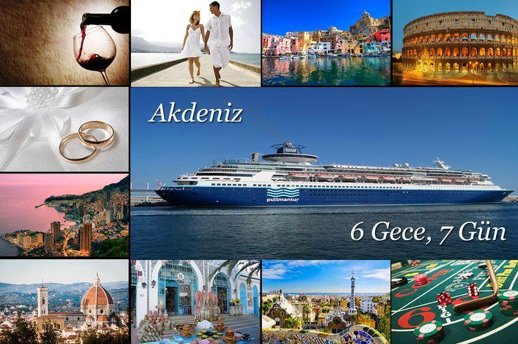 Gemilerimiz de sizlere çeşitli deneyimler yaşatmak ve tatilini unutulmaz kılmak için aileniz ile birlikte geçireceğiniz rüya gibi yolculuğa, Akdeniz gezisine davet ediyoruz. Barselona, Tunus, Floransa, Monte Carlo...  Detaylı Bilgi İçin : http://outgoing.turaturizm.com/index/detay/83/1344/11718/10/14/pullmantur-sovereign-ile-akdeniz-kurban-b/