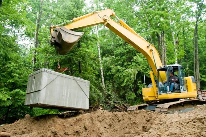 how to find septic tank location
