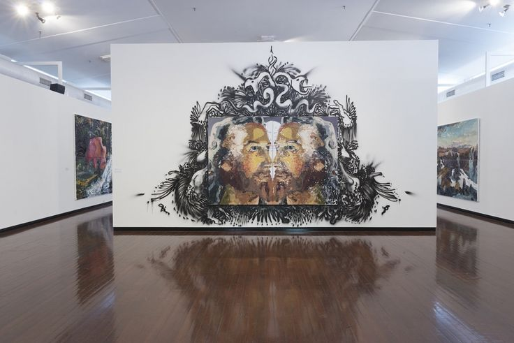 Australian National University Drill Hall Gallery Ben Quilty Trigger Happy Exhibition 2013 BEN QUILTY